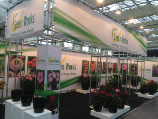 Green Works Stand
